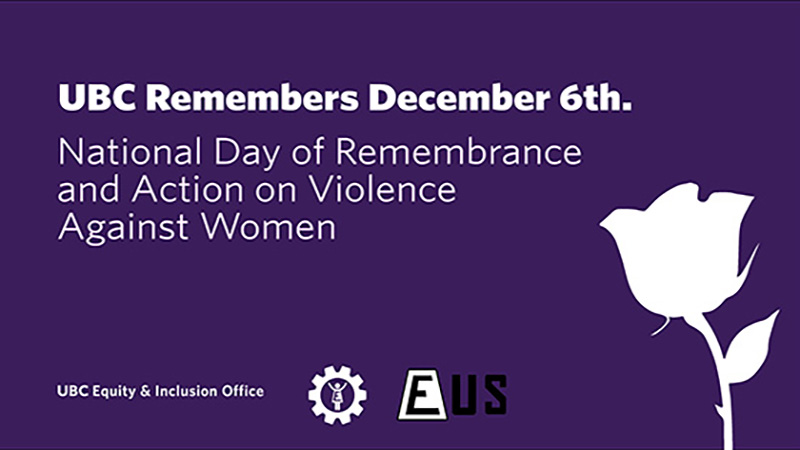 UBC Remembers December 6